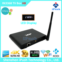 Android box tv RK3368 tv box HD/Bluetooth/Wifi android 5.1 octa core tv box