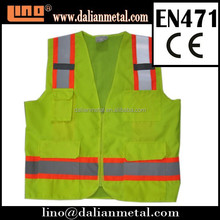 A Variety of Colors Reflective Traffic Safety Vest with Pokets