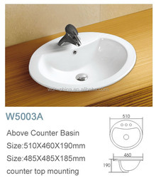 Direct factory mass production fast delivery china washing washroom basin bacia