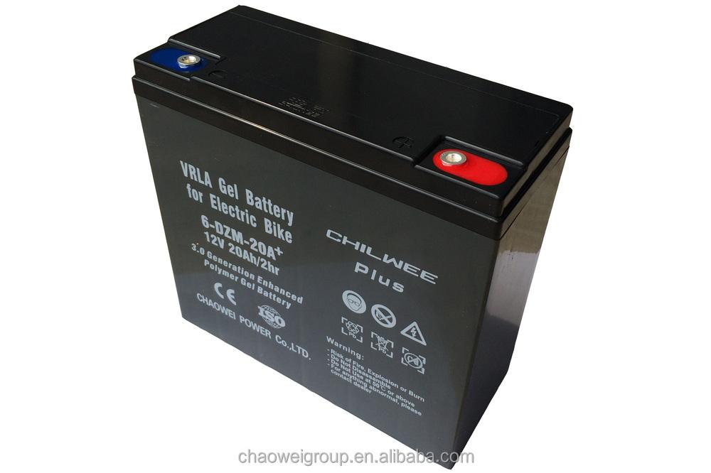 12v20a 2hr plus chilwee haute puissance batterie 6 dzm 20 pour e bike accumulateurs id de. Black Bedroom Furniture Sets. Home Design Ideas