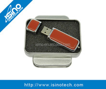 16GB Genuine Leather USB Flash Drive