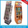 Komori nice shape with good quality cardboard display shelf for supermarket