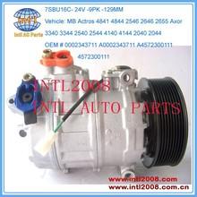 denso 7SB16C/7SBU16C 24V Compressor for MB Mercedes Benz 0002343711 4572300111