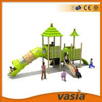 Amusement equipment Sliding board For kids outdoor plastic jungle gyms