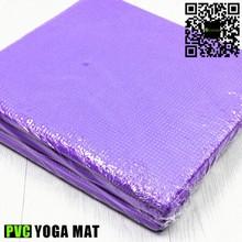 4mm nontoxic pvc custom logo eco friendly fold up yoga mat