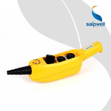Saipwell OEM ODM Pendant Push Button Station IP65 Push Button Switch On Off