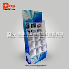 cardboard cell phone accessory display box for retail