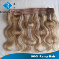 Cheap Discount Long Lasting 100% Human Remy Wavy flip in hair extension
