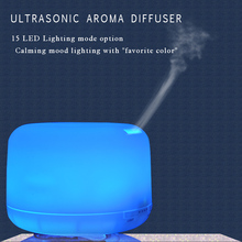 Wholesale Aroma diffuser, Electric Ultrasonic aroma essential oil humidifier atomizer with LED Color changing