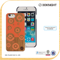 Sales promotion engraving wood pattern phone case laser printer for iphone6 with hard pc