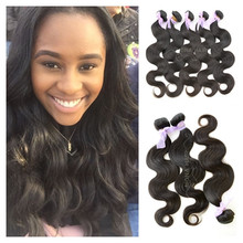 Prompt delivery human hair wholesale 100% unprocessed virgin brazilian hair