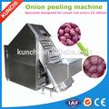 Comercio garantía! comercial de piel de cebolla máquina de pelar la cebolla peeling machine