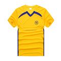 100% algodón camisetas de fútbol, jersey de fútbol del poliester, camiseta de fútbol