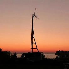 5kw small wind generator House using small wind turbine MCS, CE windmills vertical