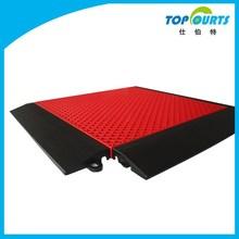 Color:16 standard color carpet grain decking plastic interlocking floor slab