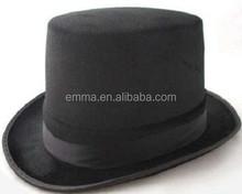 Moda decorativa top hat superior superventas sombrero barato top hat HT8443