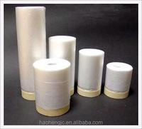 PE Plastic masking filmMasking tape protective film for building painting protection pe protective film