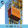 1,2 tons double cages material hoist&lifting equipment&Building Construction Elevator