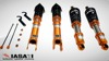 Auto Coilover suspension system kit for Subaru New WRX