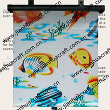 40X45CM roller auto sun shade with blister shell package,car sunshade