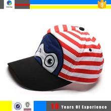 A cuadros 5 panel de dibujos animados gorras de béisbol
