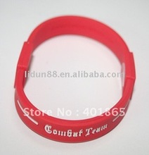 2012 Power Core New Brand Hot Sell Silicone Bracelet with Frequency and Hologram Energy