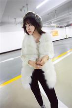 Hot! Fashion Synthetic Fur vest / fur lace / fox skin /Wholesale