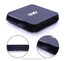 Android 4.4 Quad core digital tv box, dvb-c android tv box, tv tuner box for lcd monitor