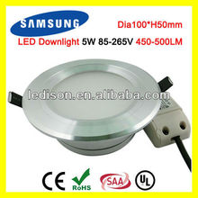 Samsung SMD5630 5W 70mm LED Ceiling Downlight
