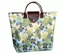 Folding tote bags, folding beach towel bag, folding nylon tote bag