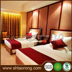 Five star hotel bedroom single bed frame