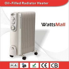 7 Fins 9 Fins 11Fins 13Fins Oil-Filled Radiator Portable Heater with Timer and EU Plug