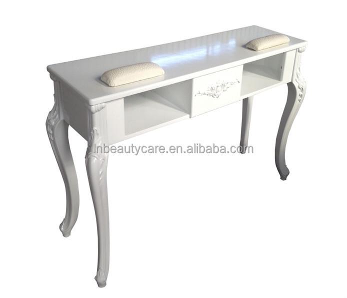 lne doble mesa de uas manicura escritorio para personas mesa de saln