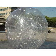 Entertainment with funny zorbing ball body ball zorb ball