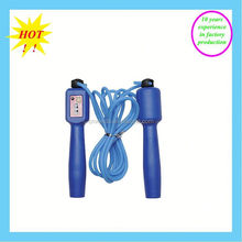 ideal skipping rope with wood animal handles for fitness training