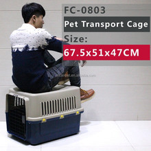 Wholesale plastic dog Airplane Kennel