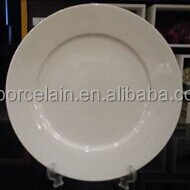 "porcelain white body 7.5"" salad plate stock"
