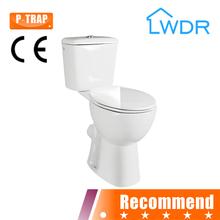 de lavado de dos piezas de baño para el wlderly w8038