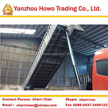 sand/coal transporting self rear dumping semi trailer on hot sale in south africa