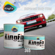 KINGFIX Brand red hardener low smell unsaturated polyester putty