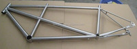 titanium tandem bike frame,double seat bicycle