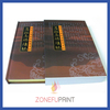 Professional Paper Offset Printing menu book design