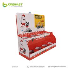 Corrugated Cardboard Countertop PDQ Displays Box For Chocolate