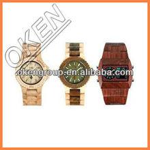 Newest design Bamboo watch,Custom wood watches