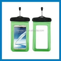 transparent mobile phone customized PVC bag