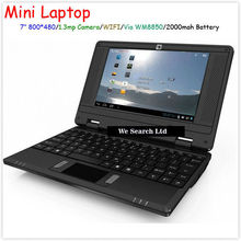 Hot sale 7inch via wm8850 512mb/4gb hdd android 4.0 mini laptop