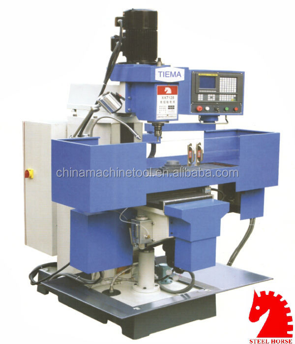 2015 CHEAP AND EASY XK7128 cnc milling machine kit