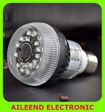 E27 Connector FHD 1080P P2P H.264 Wireless Wifi hidden camera light bulb