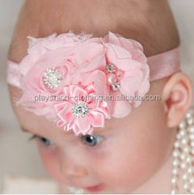 Baby Girls Princess Hair Accessories Fashion New Baby Chiffon Flower Hair Accessories