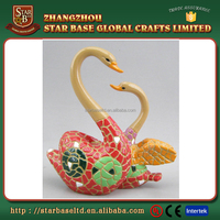 Love theme resin high quality table set custom resin figurines made in China
